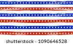 usa flag. official colors and... | Shutterstock .eps vector #1090646528