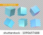 design element set in shape of... | Shutterstock .eps vector #1090657688