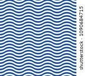 pattern wave stripe seamless... | Shutterstock .eps vector #1090684715
