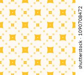 yellow vector geometric texture.... | Shutterstock .eps vector #1090708472