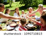 leisure  holidays and people... | Shutterstock . vector #1090710815
