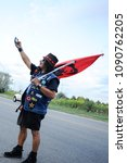mississauga august 25  an... | Shutterstock . vector #1090762205