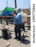 tel aviv   jaffa  israel  ... | Shutterstock . vector #1090770866