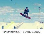 saint petersburg  russia  june... | Shutterstock . vector #1090786502