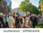 rostock  germany   may 14  2018 ... | Shutterstock . vector #1090816346