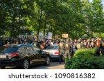 rostock  germany   may 14  2018 ... | Shutterstock . vector #1090816382