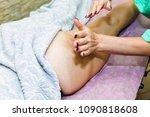 anti cellulite massage for...   Shutterstock . vector #1090818608