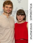 Small photo of New York, NY - May 14, 2018: Andrew Durand and Alexandra Socha attend Vineyard Theatre 2018 Gala Fundraiser at Edison ballroom