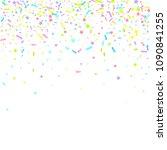 sprinkles grainy. sweet... | Shutterstock .eps vector #1090841255