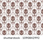 retro wallpaper and vintage... | Shutterstock .eps vector #1090842992
