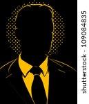 retro comic business man... | Shutterstock .eps vector #109084835
