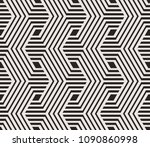 seamless pattern with geometric ... | Shutterstock .eps vector #1090860998
