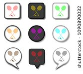 graphic icons logo from set... | Shutterstock . vector #1090890032
