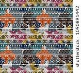 abstract art seamless pattern.... | Shutterstock .eps vector #1090891442