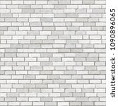 brick wall background and... | Shutterstock .eps vector #1090896065