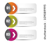 web banners with different... | Shutterstock .eps vector #109089995