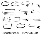 illustration of hand drawn... | Shutterstock . vector #1090933385