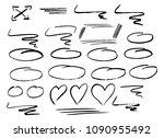 vector illustration of hand... | Shutterstock .eps vector #1090955492