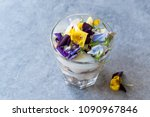 granola parfait with yogurt and ... | Shutterstock . vector #1090967846