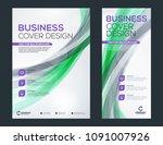 business brochure cover or... | Shutterstock .eps vector #1091007926