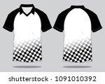 sport shirt design   Shutterstock .eps vector #1091010392