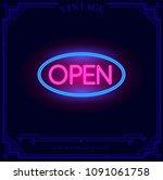 Open Shop 24 7 Neon Light Sign...