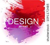 abstract vector background.... | Shutterstock .eps vector #1091172485