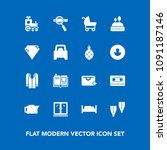 modern  simple vector icon set...   Shutterstock .eps vector #1091187146