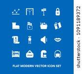 modern  simple vector icon set...   Shutterstock .eps vector #1091189372