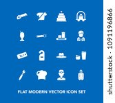modern  simple vector icon set... | Shutterstock .eps vector #1091196866