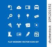 modern  simple vector icon set... | Shutterstock .eps vector #1091201552