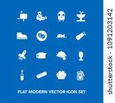 modern  simple vector icon set...   Shutterstock .eps vector #1091203142