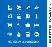 modern  simple vector icon set...   Shutterstock .eps vector #1091206196