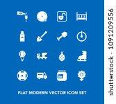 modern  simple vector icon set... | Shutterstock .eps vector #1091209556