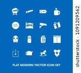 modern  simple vector icon set...   Shutterstock .eps vector #1091209562