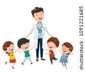 vector illustration of health...   Shutterstock .eps vector #1091221685
