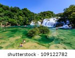 National Park Krka And Cascade...