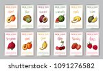 food design with vegetable.... | Shutterstock .eps vector #1091276582