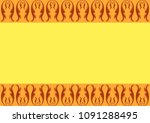 template for business card with ...   Shutterstock .eps vector #1091288495