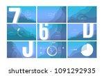 modern ui  gui screen vector... | Shutterstock .eps vector #1091292935