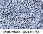 pebbles texture. sea stones. | Shutterstock . vector #1091297756