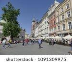 krakow  poland   may 5  2018 ... | Shutterstock . vector #1091309975