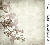 textured old paper background... | Shutterstock . vector #1091321942