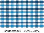 Blue And White Tablecloth...