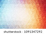 light blue  red vector... | Shutterstock .eps vector #1091347292