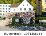 vaduz  liechtenstein   october... | Shutterstock . vector #1091366165