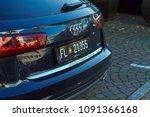 vaduz  liechtenstein   october... | Shutterstock . vector #1091366168