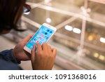bangkok  thailand   may 16 ... | Shutterstock . vector #1091368016
