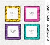 carrtoon style. decorative... | Shutterstock .eps vector #1091368568