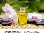 Massage Oil And Stones With...